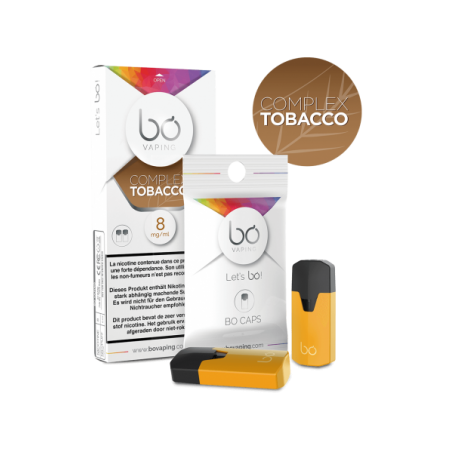 BO Caps - Sel de Nicotine - SYNOPSIS